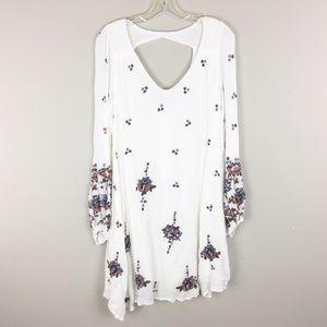Free People | White Floral Print Dress - M2